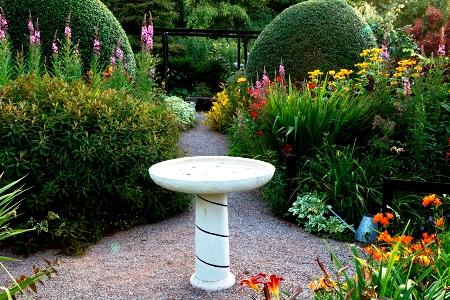 Jardim frontal, Veddw, autor Charles Hawes, South Wales jardim, Monmouthshire