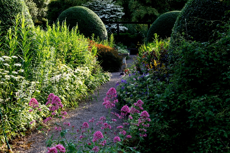 Front Garden, Veddw, copyright Charles Hawes