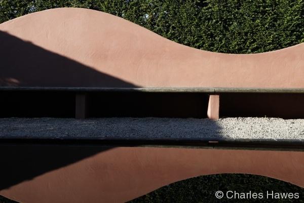 Veddw - South Garden - Reflecting Pool 1
