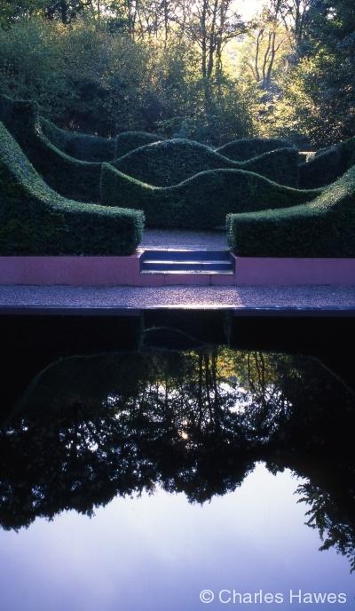Veddw - South Garden - Reflecting Pool 2