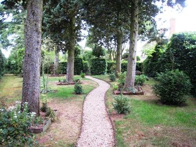 Path at the Laskett copyright Anne Wareham