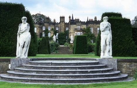Renishaw Hall, copyright Charles Hawes, garden photographer, Veddw, Monmouthshire, South Wales