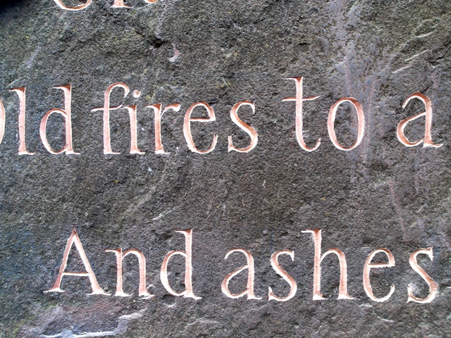 The Stone, lettering Copyright Anne Wareham SAM_4621