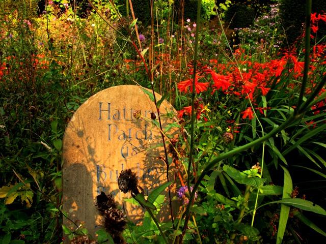 Headstones in the Wild Garden