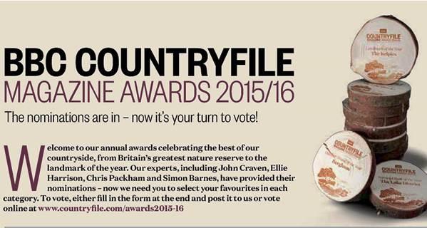 Veddw in shortlist for Countryfile Award